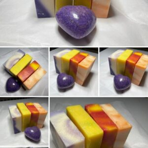 Set of 4 Cold Press Soaps